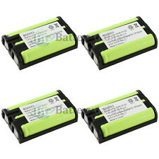 4 NEW Cordless Home Phone Rechargeable Battery for Panasonic HHR-P107 HHRP107