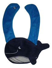 New Carter's Blue Whale Baby Boys Terry Cloth Teething Drool Bib
