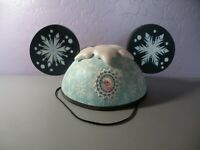 2014 Disney World Mickey Mouse Ear Hat FROZEN Anna Elsa 2-Sided With Tag