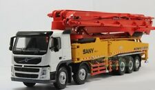 1/50 SANY VOLVO 62m truck mounted Concrete pump SY5502THB Diecast