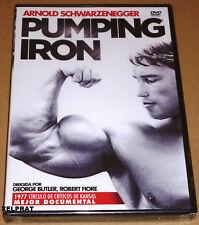 PUMPING IRON / Arnold Schwarzenegger / Lou Ferrigno - English Español - Precinta