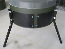 3 Leg Barrel Band System for 55 Gallon Barrels, Deer Feeder Parts