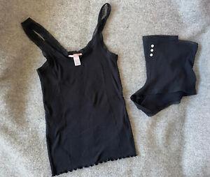 VICTORIA'S SECRET Cami, Shorts Pajamas Set 2 Piece Pjs Sleepwear Size Medium