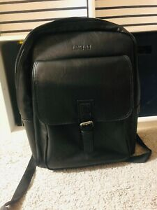 Kenneth Cole Modern Pack-nology Back Leather Computer Backpack 5711515 With RFID