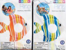 Intex Recreation 32.5x32 Trop Fish Ring 59223Ep Pack of 2