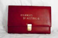 Domo & Co Map Case Highways of Australia & Mobil Map Tasmania Western Australia