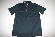 Adidas Polo Shirt Climalite Men XL Blue NEW