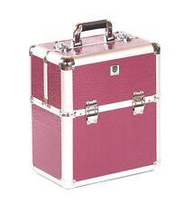 Urbanity nail polish storage case beauty box hard vanity purple crocodile