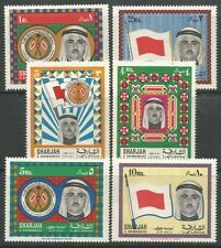 STAMPS-SHARJAH. 1968. Definitive High Values Set. SG: 263/68. Mint Never Hinged.