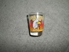 (SG-2)SHOT GLASS-BIKE WEEK 2008 DAYTONA BEACH-SAME IMPRINT ON BOTH SIDES