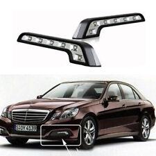 2 Pcs 8 LED Car Daytime Running Lights Fog Lamp For Mercedes-Benz DRL Led ORX