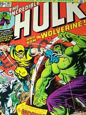 The Incredible Hulk #181 (Nov 1974, Marvel) 1st Full Wolverine App With MVS
