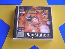 WORMS ARMAGEDDON - PLAYSTATION - PS