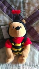 "Disney Store Exclusive, Valentine Bumble Bee Mini Bean Bag 8"", Mwmt"