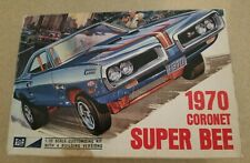 Vintage SEALED BAG! MPC 1970 Superbee Collector-Quality Kit 1/25 - Annual Issue