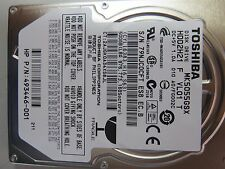500GB Toshiba MK5055GSX Laptop SATA Hard Drive HDD2H21 F VL01 S HPN 493446-