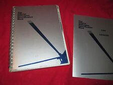 the original HELICOPTER specification book 1987 1st edition w/ 1989 addenda