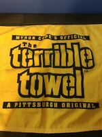 PittsburghSteelers Terrible Towel Myron Cope's Official A Pittsburgh Original