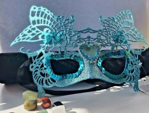 Glitter  Masquerade Mask Christmas Ball Party fancy dress fairy butterfly