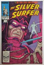 The Silver Surfer Stan Lee/Moebius #1 (Dec 1988, Marvel) VF+