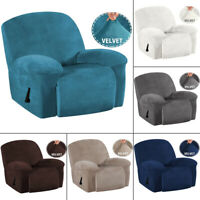 Stretch Recliner Chair Covers Velvet Cover Sofa Slipcover Furniture Protector