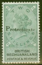 Lightly Hinged Single Victorian (1840-1901) Bechuanaland Stamps (Pre-1966)