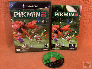 Pikmin 2 Nintendo GameCube Black Label Game Tested Working Complete!