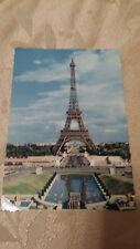 Vintage La Tour Eiffel Paris 620 Postcard Unposted