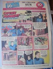 Captain Midnight Sunday by Jonwon from 10/25/1942 Large Rare Full Page Size!