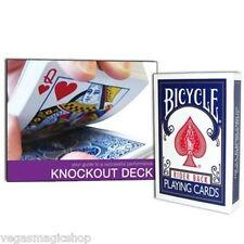 Bicycle Knockout Deck -Card Magic Trick with Gimmicked Cards & Instructional DVD
