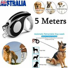Heavy Duty Retractable Dog Leash Strong Control Pet Lead Walking Running Belt AU