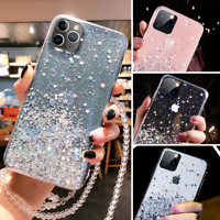 Glitter Case For iPhone 11 Pro Max XS XR X 8 7 Plus Shockproof Protective Cover