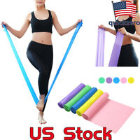 Health Training Sporting Goods Resistance Exercise Fitness Bands Yoga Stretch