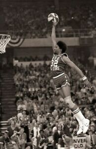 DR J JULIUS ERVING Poster Wall Art Home Photo Print 24 x 36 inch A
