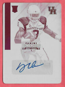 2015 Deontay Greenberry Panini Contenders Draft Auto 1/1 Print Plate - Cowboys