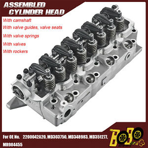 Complete Assembled Cylinder Head for HYUNDAI H100 H-1 D4BA D4BX D4BH 2.5L NEW