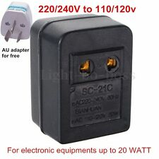 240V to110V Step Down AU US 50W Power Converter Transformer Voltage Converter