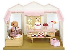 Calico Critters Village Cake Shop Playset Veronica Toy Poodle In Speacial Outfit