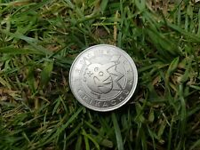 More details for pikachu metal coin wizards of the coast silver 2000 original wotc rare