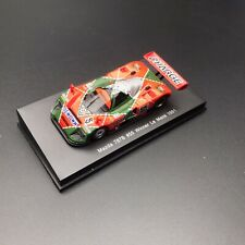 New 1/64 Spark Mazda 787B 1991 Le Mans winner Car Model #55 V. Weidler Y150