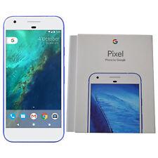 "BNIB 5"" Google Pixel 2016 Phone G-2PW4200 32GB Blue Factory Unlocked 4G/LTE OEM"