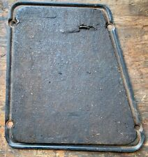 PORSCHE 356 356A 356B T5 STEERING BOX COVER IN TRUNK WITH OEM TAR PAPER