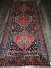 4x10ft. Handmade Malayer Wool Runner