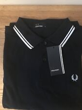 BNWT  Men's  Authentic Fred Perry  M1200 238 Polo Shirt. Classic Fit. Large