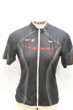 New Louis Garneau Women Equipe GT Jersey Cycling Bike Medium Black Short Sleeve