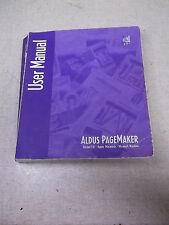 Aldus Pagemaker User Manual Apple Macintosh Microsoft Windows Version 5.0