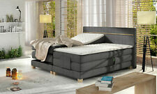 Luxury Boxspring Bed Beds Electric Adjustable Complete Set Leather Textile New