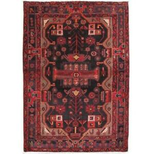 5x7 Authentic Hand-knotted Zanjan Rug PIX-82841