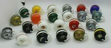 NFL Miniature Football Helmets OPI And Mixed Lot of 23 Vintage