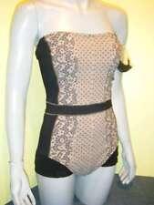 Rachel Pappo badpak Cannes 42 lingerie-look swimsuit badeanzug NEW € 169.95